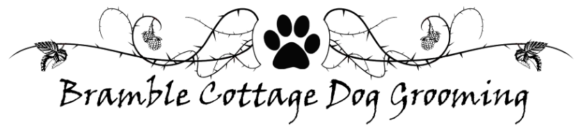 Bramble Cottage Dog Grooming Logo